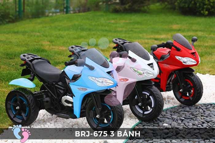 Xe moto điện trẻ em BRJ-675 3 bánh 1