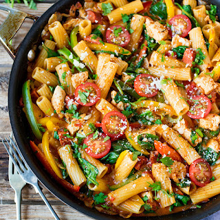 Cajun Chicken Pasta PLUS Foodies Festival Giveaway!