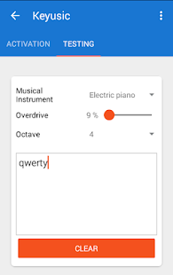 Keyusic - Keyboard Sounds- screenshot thumbnail