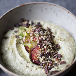 Raw Sprouted Buckwheat Porridge with Figs and Cacao Nibs Recipe