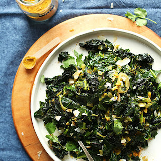 Amazing Coconut Curried Greens