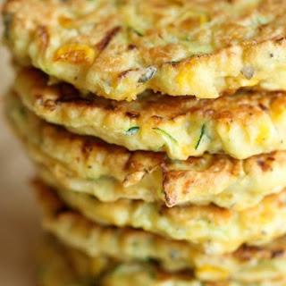 Zucchini Corn Pancakes Recipe