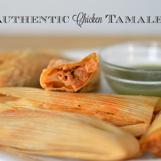 Authentic Chicken Tamales