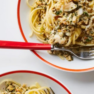 Linguine and Clam Sauce.