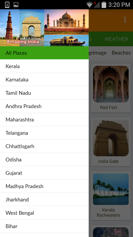 Amazing India- screenshot