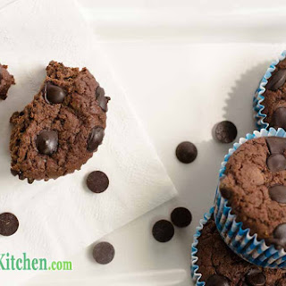 Low Carb Double Chocolate Fudge Muffins Recipe
