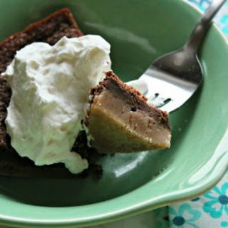 Impossible Chocolate Pie.