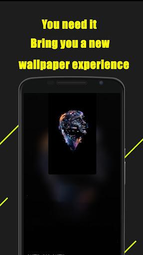 Magic Dynamic Wallpaper — HD mobile theme screenshot 5