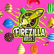 Firezilla - Match 3 Sweet Candy Jewels