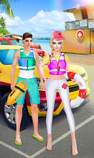 Beach Girls - Lifeguard Salon