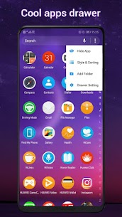 Cool Q Launcher for Android™ 10 launcher UI, theme 5.9 Mod + Data for Android 3