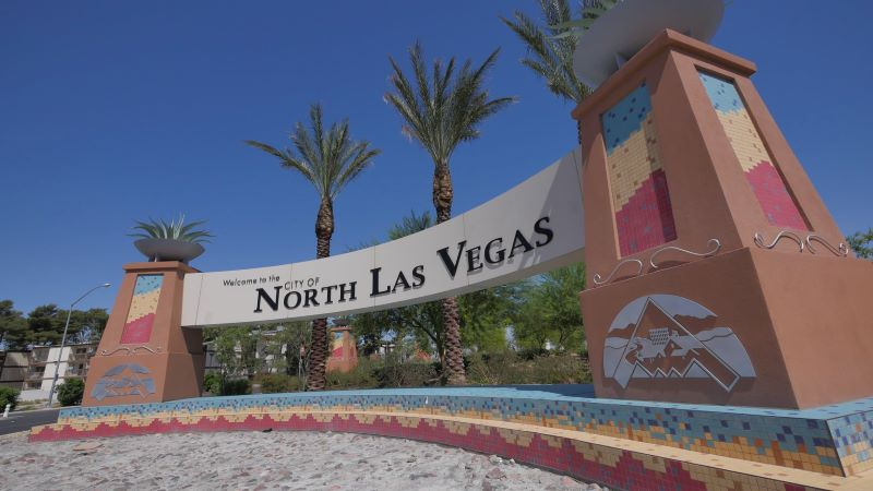 Welcome to North Las Vegas sign