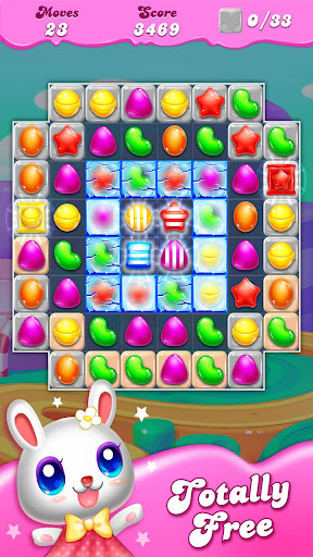 Candy Clash of Match 3 gems