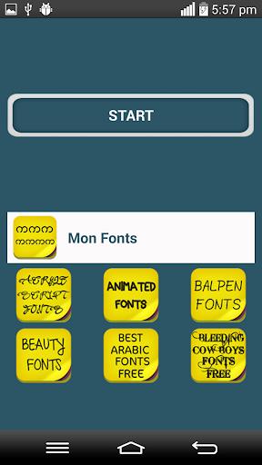 Mon Fonts