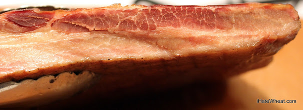 Photo: The finished bacon!  Awesome!