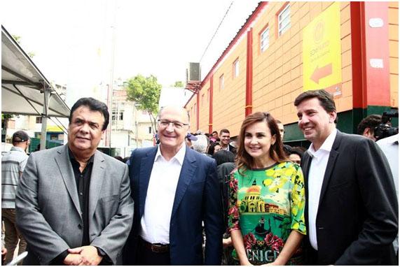 Inauguração do bom prato de Taboão de Serra
