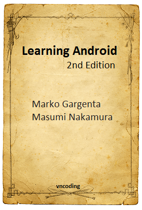 Learning Android 2nd Edition - PDF Books