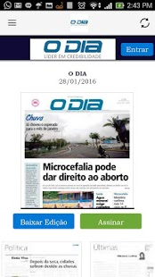 O Dia- screenshot thumbnail