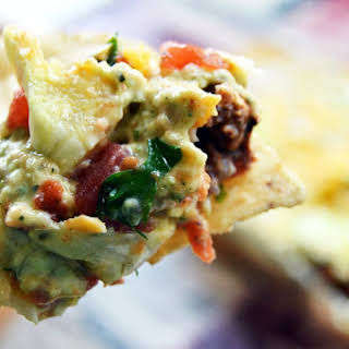 Spicy Seven Layer Dip | Super Bowl Food.
