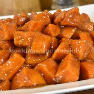 Carolyn'S Candied Yams Recipe