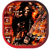 App Skull Rock N Roll Keyboard Theme APK for Windows Phone