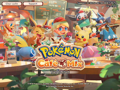Pokémon Café Mix Mod Apk (Unlimited Currencies) 1.45.1 8