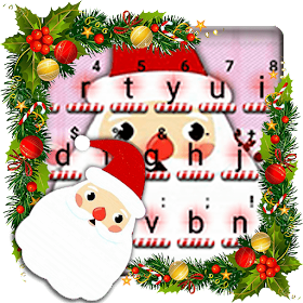 Тема для клавиатуры Kawaii Christmas