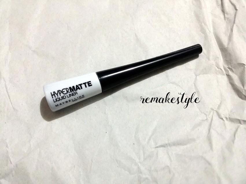 Hypermatte Liquid Liner (Black) by Maybelline