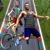 Happy Guts Glory Wheels - BMX Obstacle Course Game