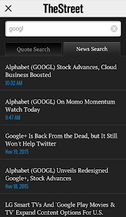 TheStreet - Financial News- screenshot thumbnail