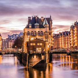 by Babor Ali Khan - City,  Street & Park  Neighborhoods ( #germany, #hamburg, #speicherstadt, #deutschland,  )