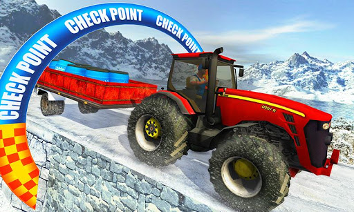 Farm Tractor Cargo Driving Simulator 20 1.5 screenshots 5