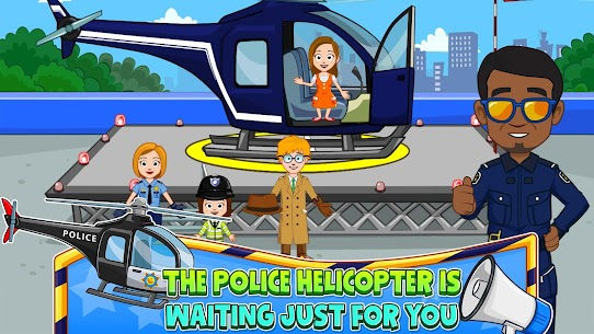 My Town : Police Station Pretend games for Kids 2