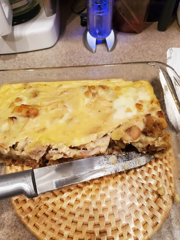 Chicken Squares With Cream Sauce, My Way