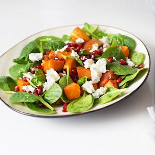 Spinach Feta Salad Pomegranate Recipes