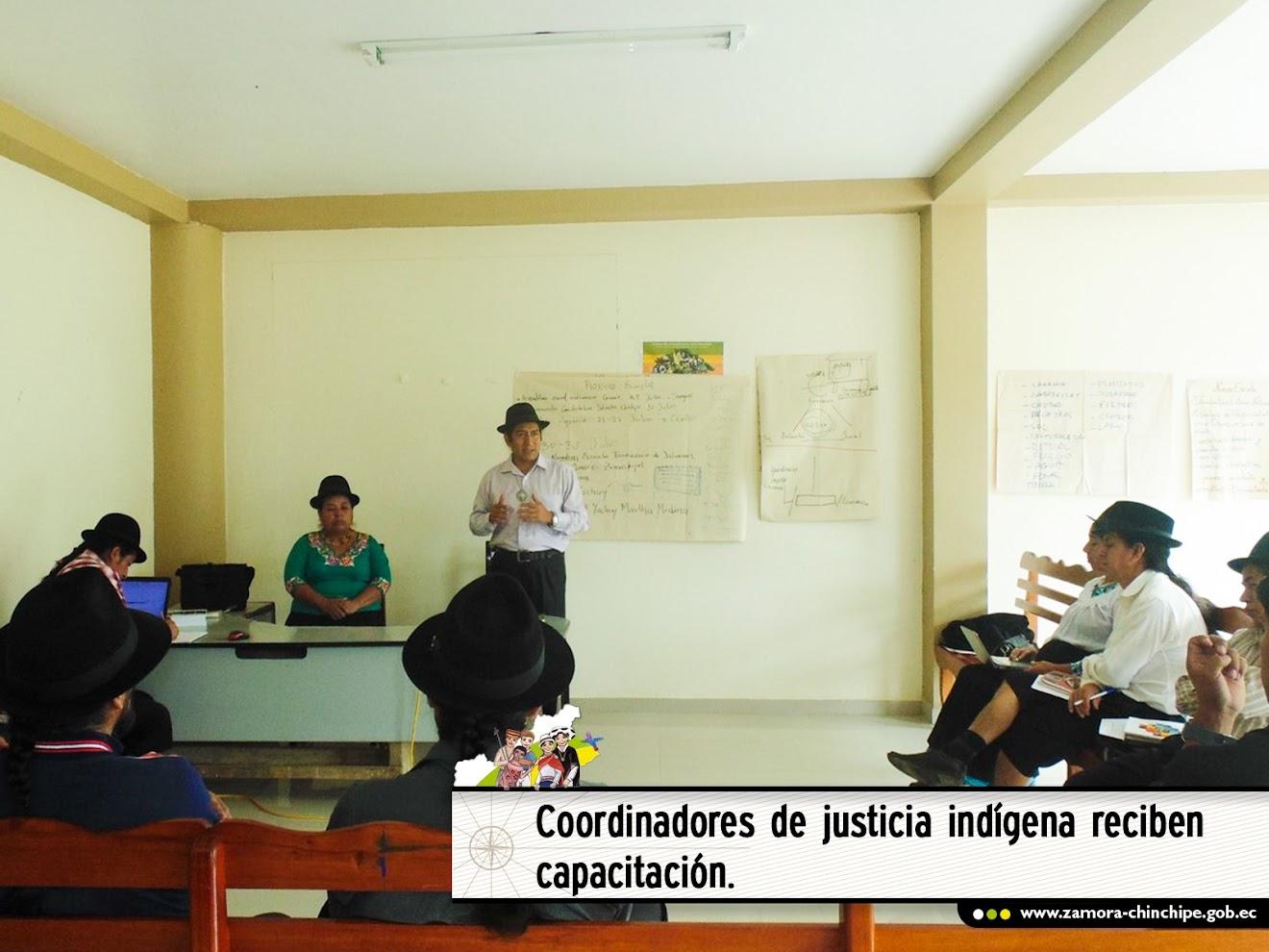 COORDINADORES DE JUSTICIA INDÍGENA RECIBEN CAPACITACIÓN