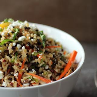 Healthy Multigrain Salad with Feta