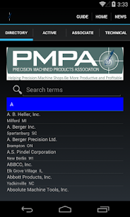 PMPA Directory- screenshot thumbnail
