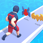Superhero Run - Epic Transform Race 3D