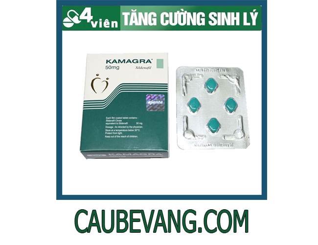 thuốc tăng cường sinh lý Kamagra 50mg