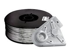 Silver PRO Series PLA Filament - 2.85mm (10lb)