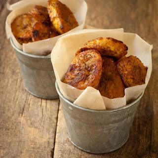 Caribbean-spiced Crispy Baked Plantain Chips