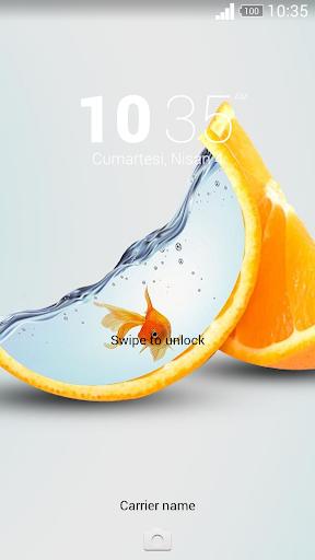 For Xperia Theme Orangeplay