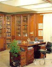 Photo: Allsystem ALBRECHT, Türform Tiffany, Nussbaum antik