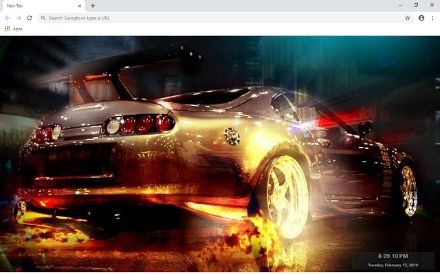 Need For Speed New Tab