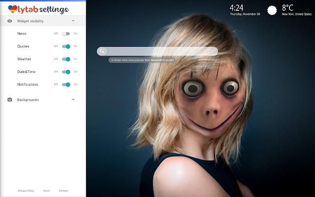 Momo Creepy Face Momo Face Wallpaper