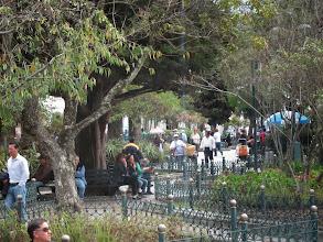 Photo: Sunday in the Parque Calderon, Cuenca