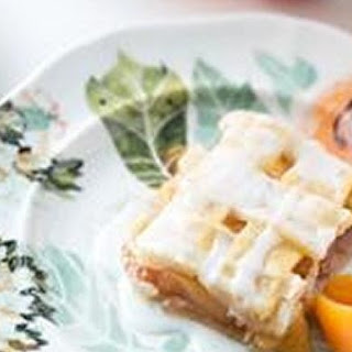 Bourbon Peach Pie Bars