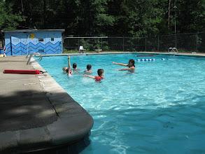 Photo: Swim Lessons at Camp Toccoa