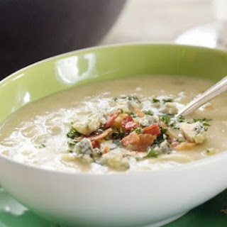 Irish Potato Soup with Cheese and Red Ale